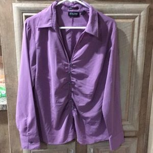 """New York & Company"" Lavender Purple Color Blouse"